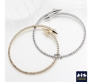 時尚水鑽可調式手環 正韓