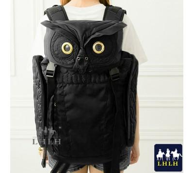 大容量貓頭鷹防水後背包