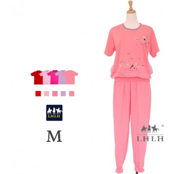 Women Loungewear short-sleeved Suit M