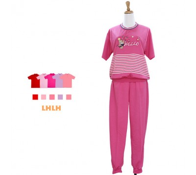 Women Loungewear short-sleeved Suit F
