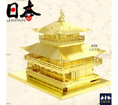 Kinkaku-ji 3D Metal Model