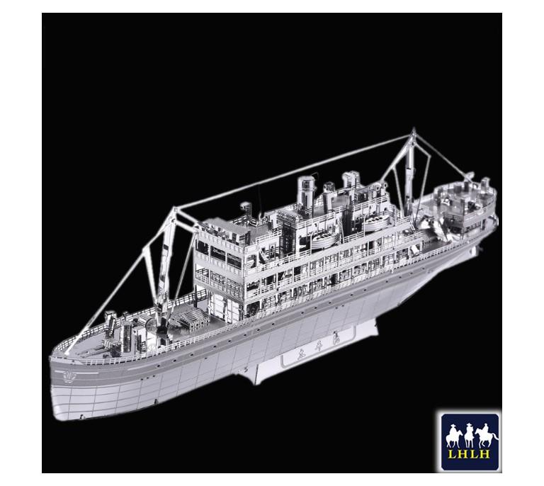 The Crossing 3D Metal Model