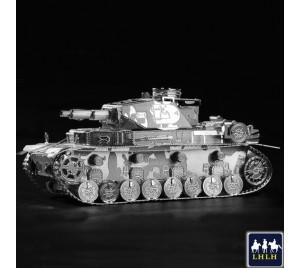 德国四号坦克 3D金属模型