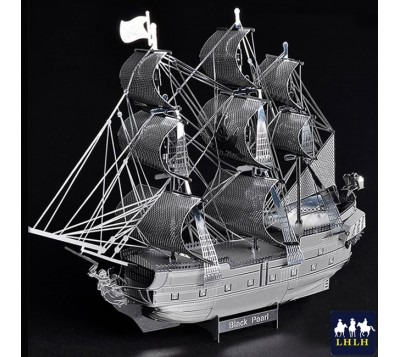 Black Pearl 3D Metal Model