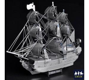 Black Pearl 3D Metal Model