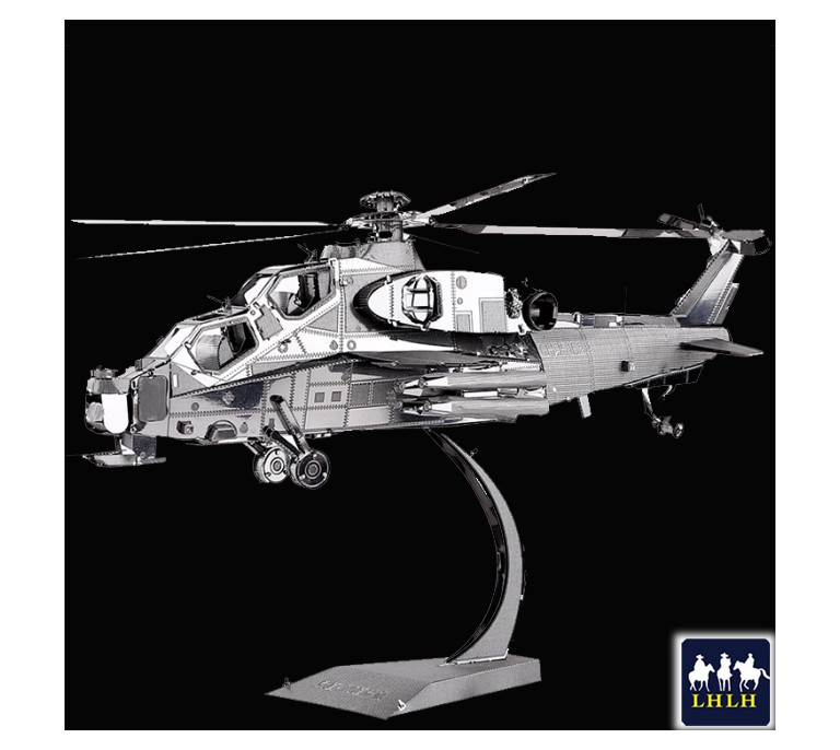 WUZHI-10 HELICOPTER 3D Metal Model