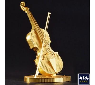 Violin 3D Metal Model