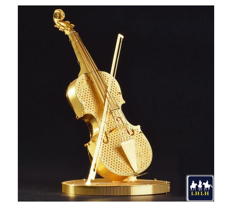 小提琴 3D金属模型