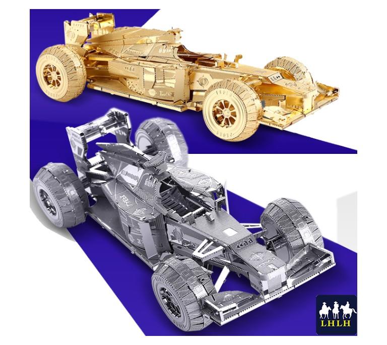 RACING CAR F1 3D Metal Model