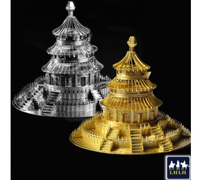 Temple of Heaven 3D Metal Model