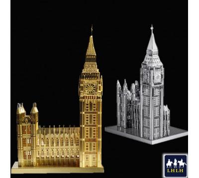 Big Ben 3D Metal Model