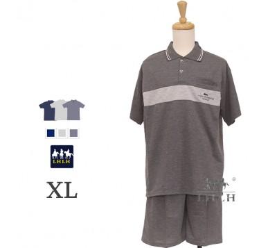 Men Leisure Wear Polo Shirt Short-sleeved Shorts XL