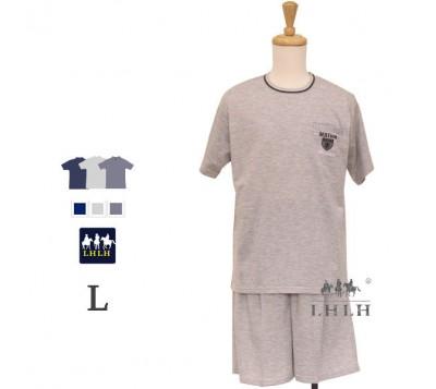Men Leisure Wear Short-sleeved Shorts L