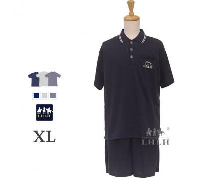 Men Leisure Wear Polo Shirts Short-sleeved Shorts XL