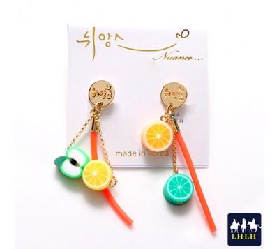 Fruit Candy Steel Needle Earrings Korea Nuance