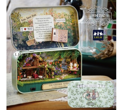DIY Assembly Box Theatre Countryside Notes