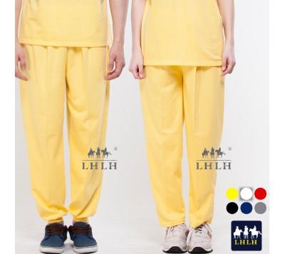 黃色 褲子 運動褲 寬鬆 休閒褲 女生 男生