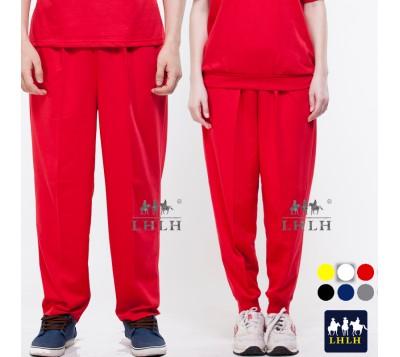 紅色 褲子 運動褲 素面 休閒褲 男生 女生