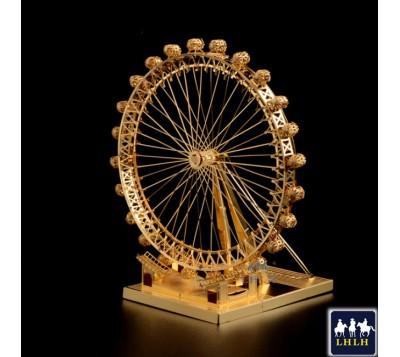 Ferris Wheel 3D Metal Model