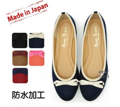 Hand Maid Shoe Water Repellent Processing Ballet Pumps For Women