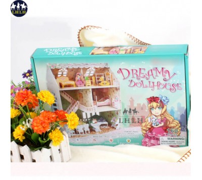 Dollhouse 3D Puzzle Lady House