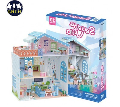 Dollhouse 3D Puzzle Seaside Villa