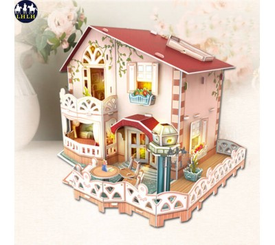 Dollhouse 3D Puzzle Holiday Bungalow