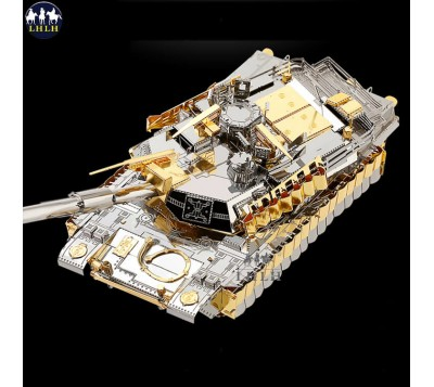 生日礼物 美国M1A2坦克车 金属模型