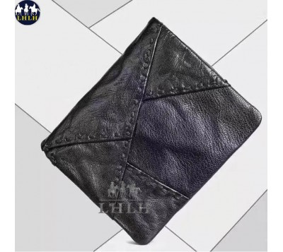 Retro Genuine Leather Bifold Wallet