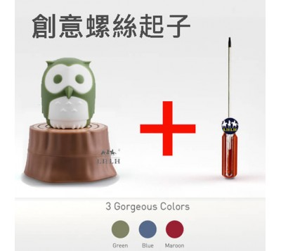 iThinking Huku with Trunk Owl Shaped Portable Screwdriver with Extension Bar