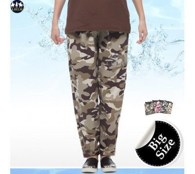 Camouflage Pants Straight Leg Pants For Men & Women CoolTech