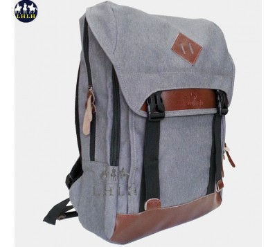 Canvas backpack With Pig Nose