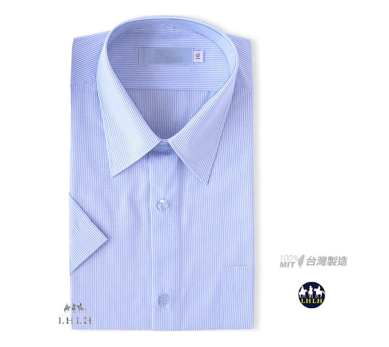 Short-sleeved Striped Non-iron Shirts