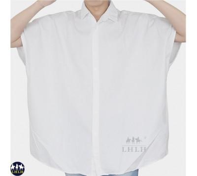 宽衬衫 男装宽版衬衫短袖 宽松 韩国