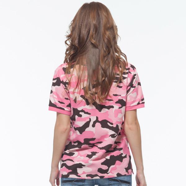 粉桃紅 迷彩 背面